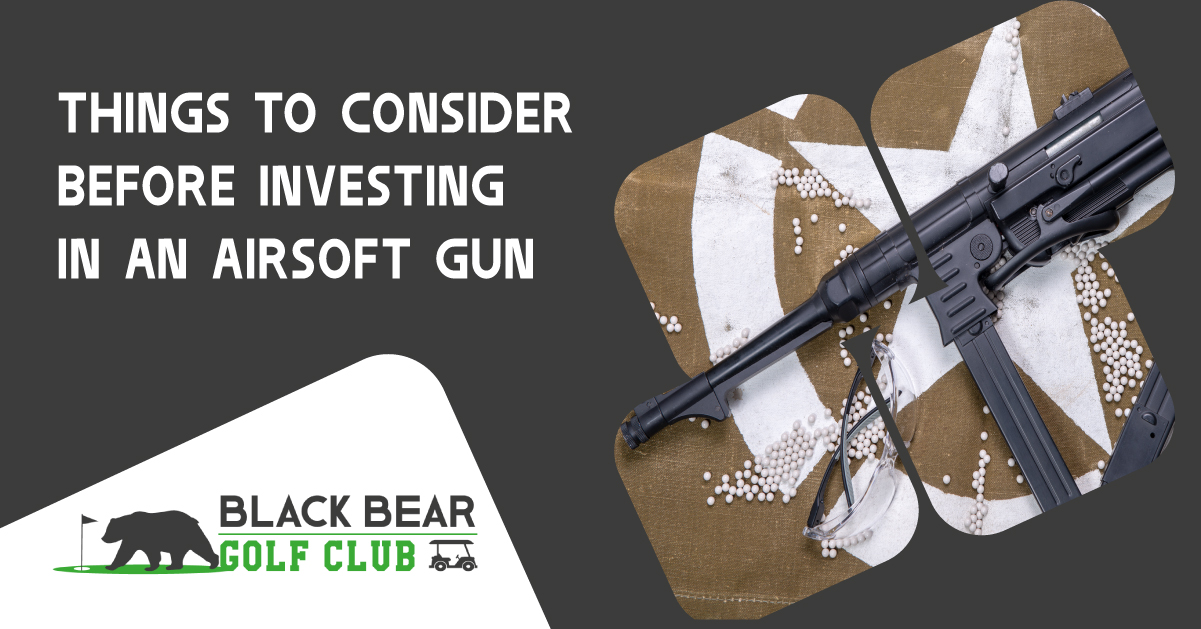 Things to Consider Before Investing in an Airsoft Gun
